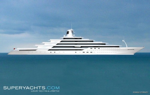 Donald Starkey 200m Yacht